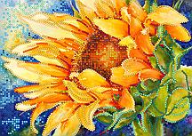 Схема для вышивки бисером POINT ART Солнечное утро, размер 21х15 см