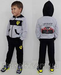 """Спортивный костюм для мальчика  """"Ferrari"""" р.140-152см"""