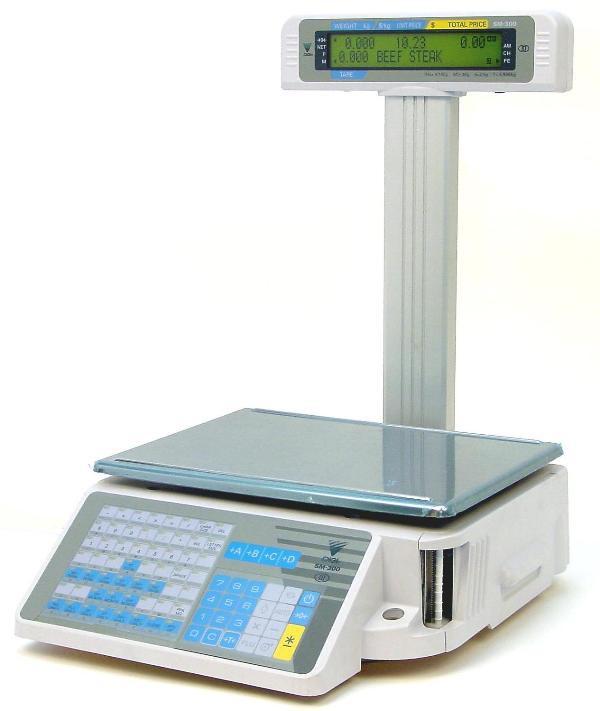 Весы с печатью термоэтикеток DIGI SM 300 P