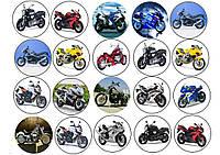 """Набор картинок """"Мотоциклы"""""""