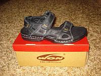 Фирменные кожаные сандалии WON №-3 (41/42/43/44/45), фото 1