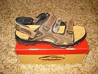 Фирменные кожаные сандалии WON  №-5 (41), фото 1