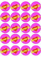 """Набор картинок """"Love is... 2"""""""