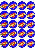 """Набор картинок """"Love is... 3"""""""