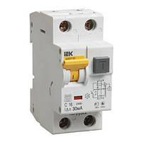 Выключатель автоматический дифференциального тока АВДТ 32 С16