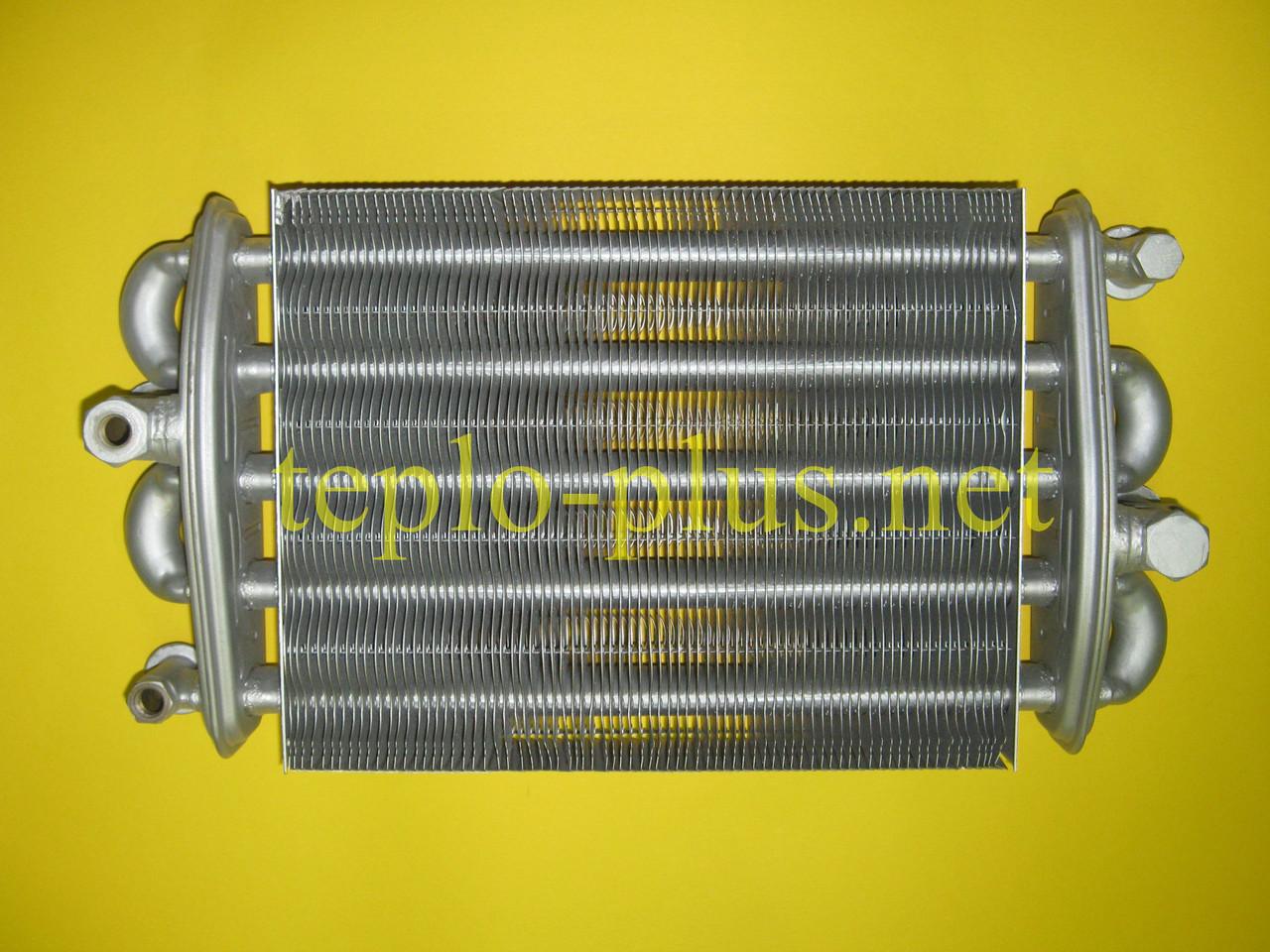 Теплообменник битермический 24 кВт 2.55.35.076.04 TeploWest (ТеплоВест), фото 2