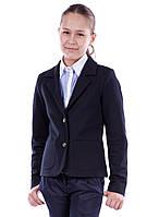 Трикотажный школьный пиджак Катрин, фото 1