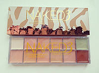 Палетка консилеров корректоров Naked 3 Urban Decay 12 color Natural Face