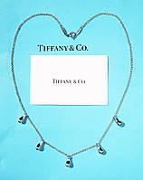 Серебряное колье Tiffany