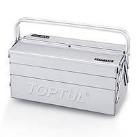 Ящик для инструмента 5 секций 470(L)x220(W)x350(H)mm Toptul