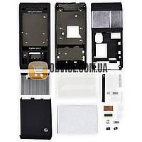 Корпус Sony Ericsson C905, цвет черный