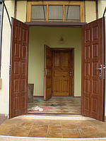 Двери для дома и дачи металлические