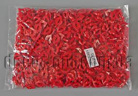 Губки красные 2,0см/ 500шт (10)