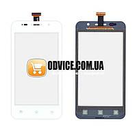 Тачскрин (сенсор) Prestigio MultiPhone PAP 4322, цвет белый, на 2 sim карты