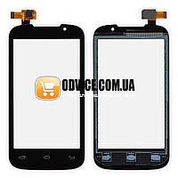 Тачскрин (сенсор) Prestigio MultiPhone PAP 3400, цвет черный, на 2 sim карты