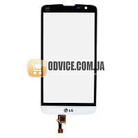 Тачскрин (сенсор) LG D331 D335 L Bello, цвет белый, на 2 sim карты