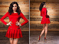 Платье женское короткое трикотажное летнее P3251