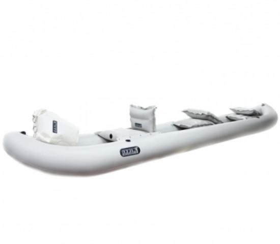Трёхместная надувная байдарка Ладья ЛБ-530 комфорт