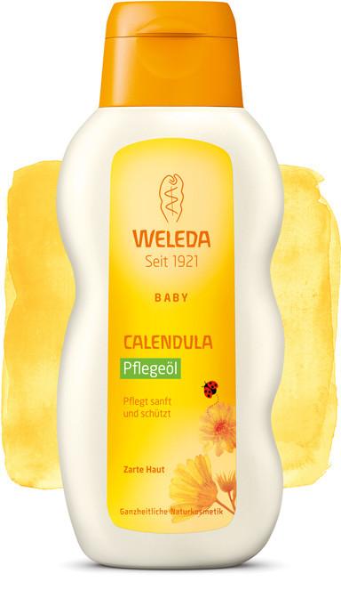 Детское массажное масло Calendula (200 мл), Weleda