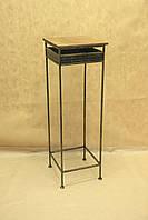 Столик СК-02М малый (металл, дерево)