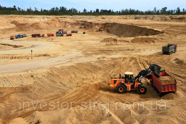 Купить песок мытый горный в Харькове\