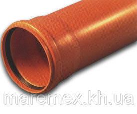 Труба зовнішня каналізаційна 110х1000м (3.2) - Інсталпласт-ХВ