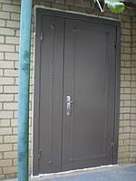 Входные  Двери с молотковой покраской и отделкой МДФ