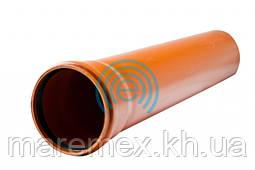 Труба наружная канализационная 110х 1000 мм (2,2) оранж. (5шт) - Evci Plastik