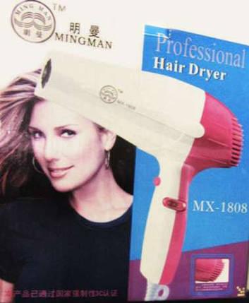 Фен для Волос MX 1808, фото 2
