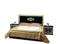 Кровать 2-сп 1,8 м София черный лак (Світ Меблів TM)