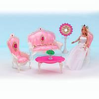 Игрушечная мебель 1204 гостинная,софа,кресло