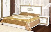 Кровать 2-сп 1,6 м София белый лак (Світ Меблів TM)