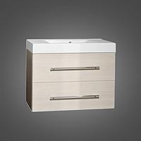 Шкафчик навесной с раковиной Barbados 90 (ШН-95) цвета исполнения-Венге;Белый.