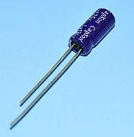 Конденсатор электролитический     1.0мкФ  25В CapXon 85*C GS 5*11