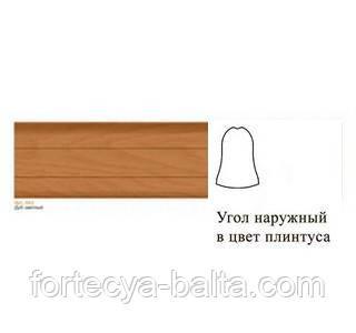 Угол наружный для плинтуса Line Plast (Лайн Пласт) №043