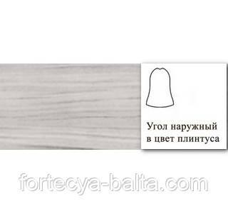 Угол внешний для плинтуса Line Plast (Лайн Пласт) №004