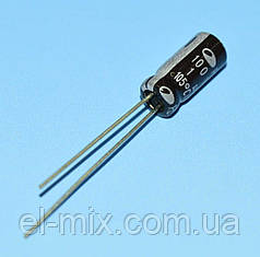 Конденсатор электролитический     1.0мкФ 100В Samwha 105*С RD 5*11