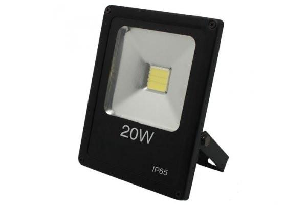 Наружный светодиодный прожектор 20 Вт 6500K IP65 1LED LEMANSO чёрный / LMP2-20