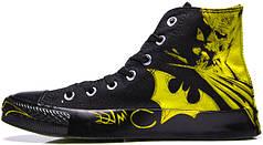 Мужские кеды Converse All Star batman, конверс