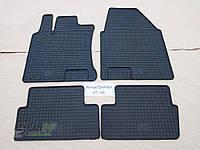Резиновые ковры в салон Nissan Qashqai 07-/10- (CLASIC) кт-4 шт.
