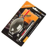 Набор для чистки оптики K&F Concept 3в1: груша карандаш фибра