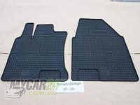 Резиновые ковры в салон перед. Nissan Qashqai 07-/10- (CLASIC) кт-2 шт.