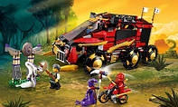 Конструктор Lele Ninja Ниндзя Мобильная база: 788 деталей, 7 фигурок