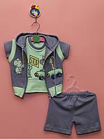 Детский костюм-тройка для лета «Стоп»