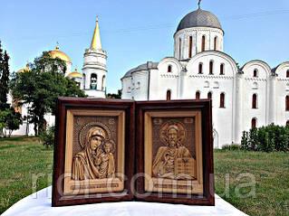 Новинка в нашем интернет магазине-деревянные резные иконы от лучших мастеров Украины