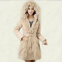 Женский зимний пуховик, женское зимнее пальто. Модель 753, фото 2