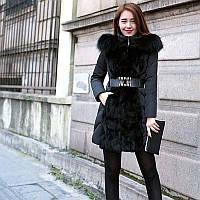 Женский зимний пуховик, женское зимнее пальто. Модель 753, фото 4