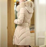 Женский зимний пуховик, женское зимнее пальто. Модель 753, фото 5
