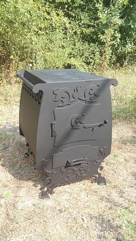"""Дровяная печь с принудительной конвекцией """"Графиня"""", сталь 4мм, фото 2"""