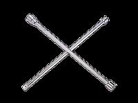 Ключ крестообразный 24/27/32 мм L=700мм.